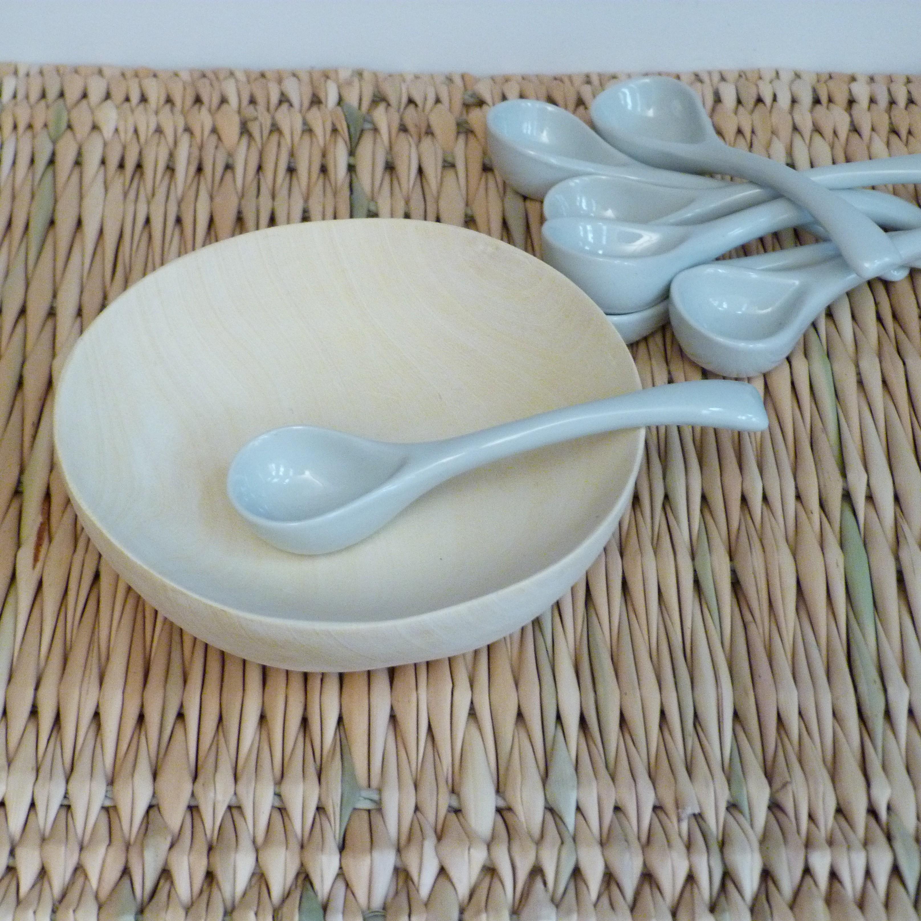 Cuillères en céramique