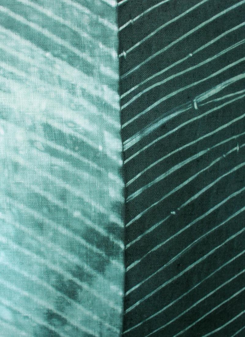 Coussin Zigzag Vert