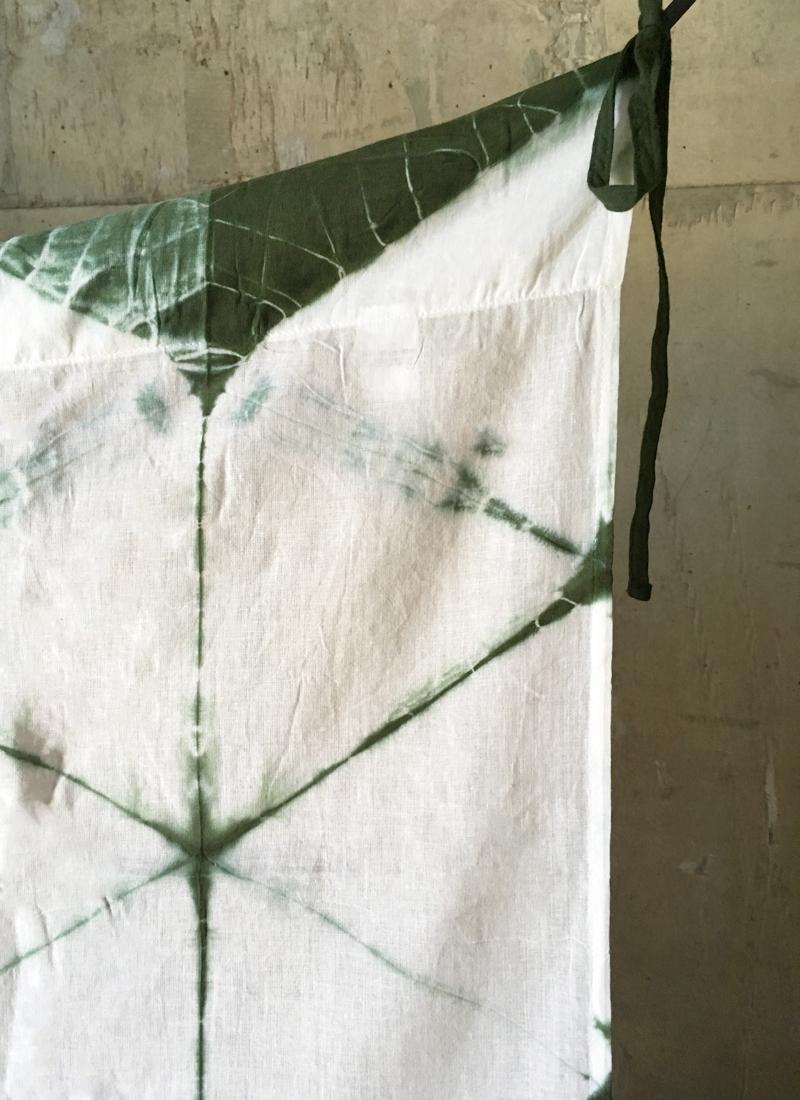 Voilages Tie Dye Losange