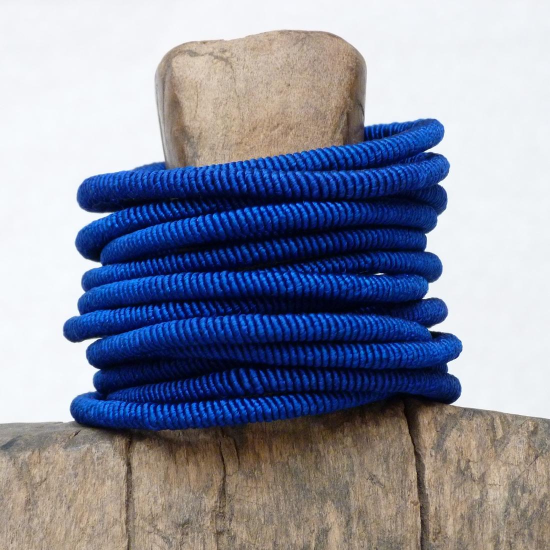 Bracelet Fil Indigo
