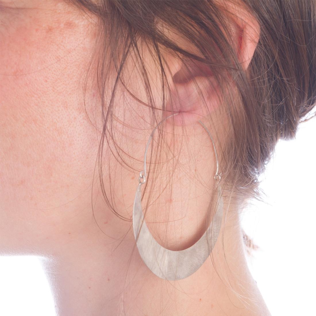 Boucles d'oreille MOON