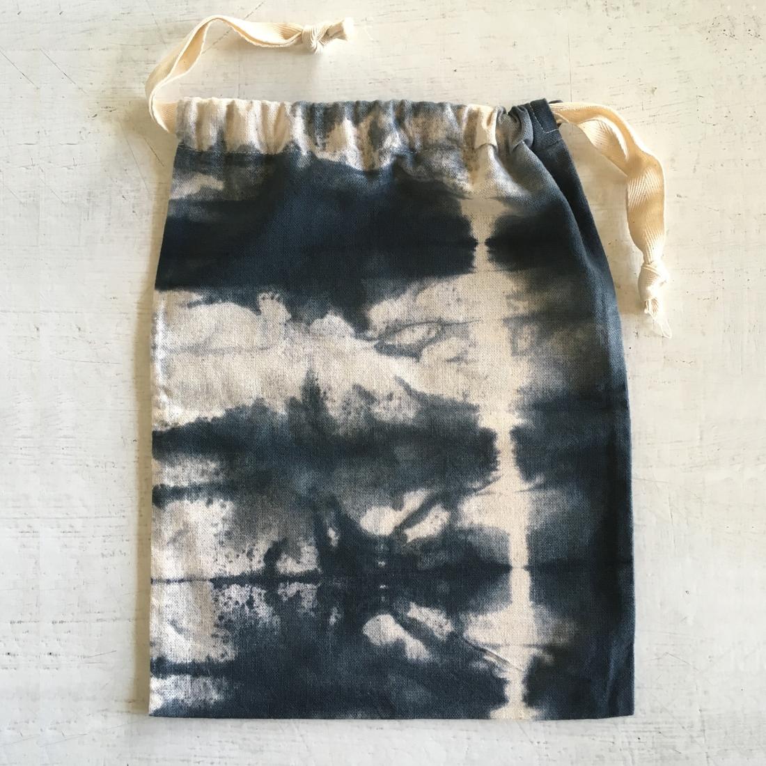 Pochette tie dye coton