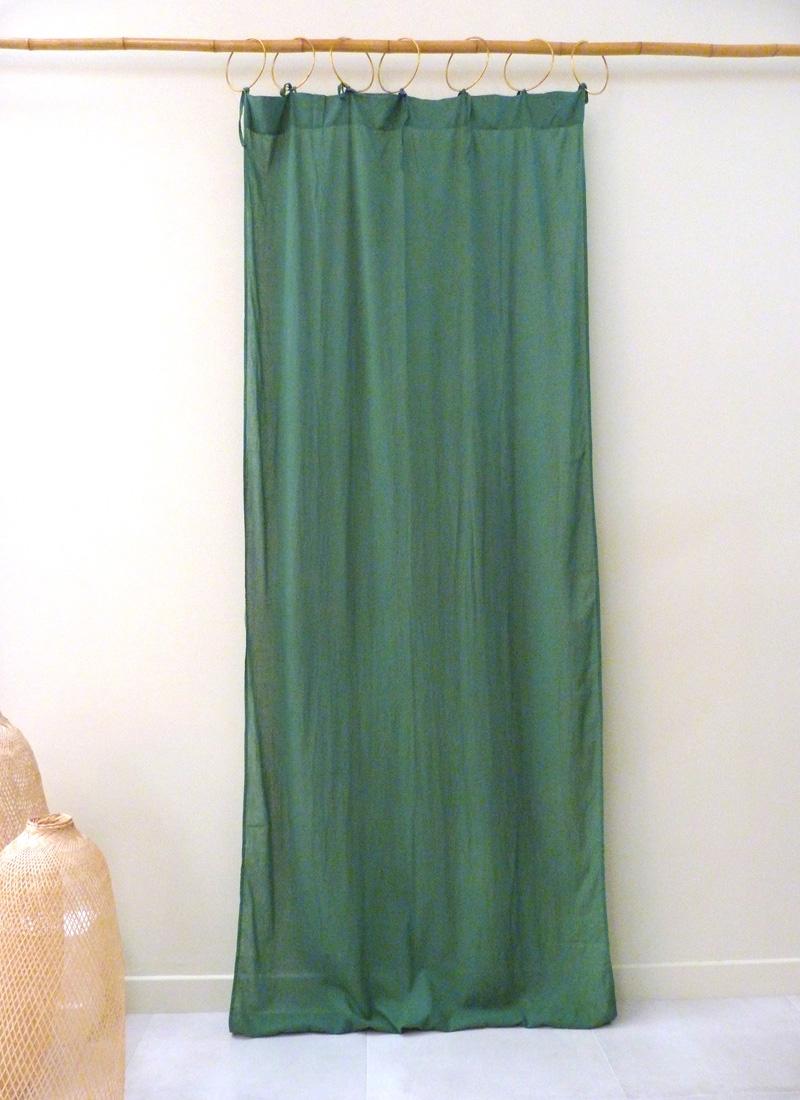 Rideaux Vegetal coton