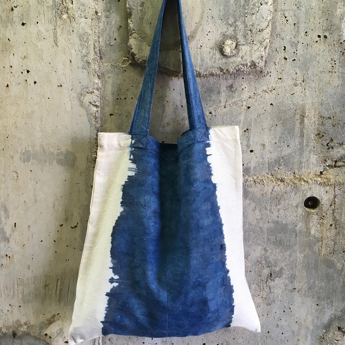 Cabas tie dye en coton bio N°4