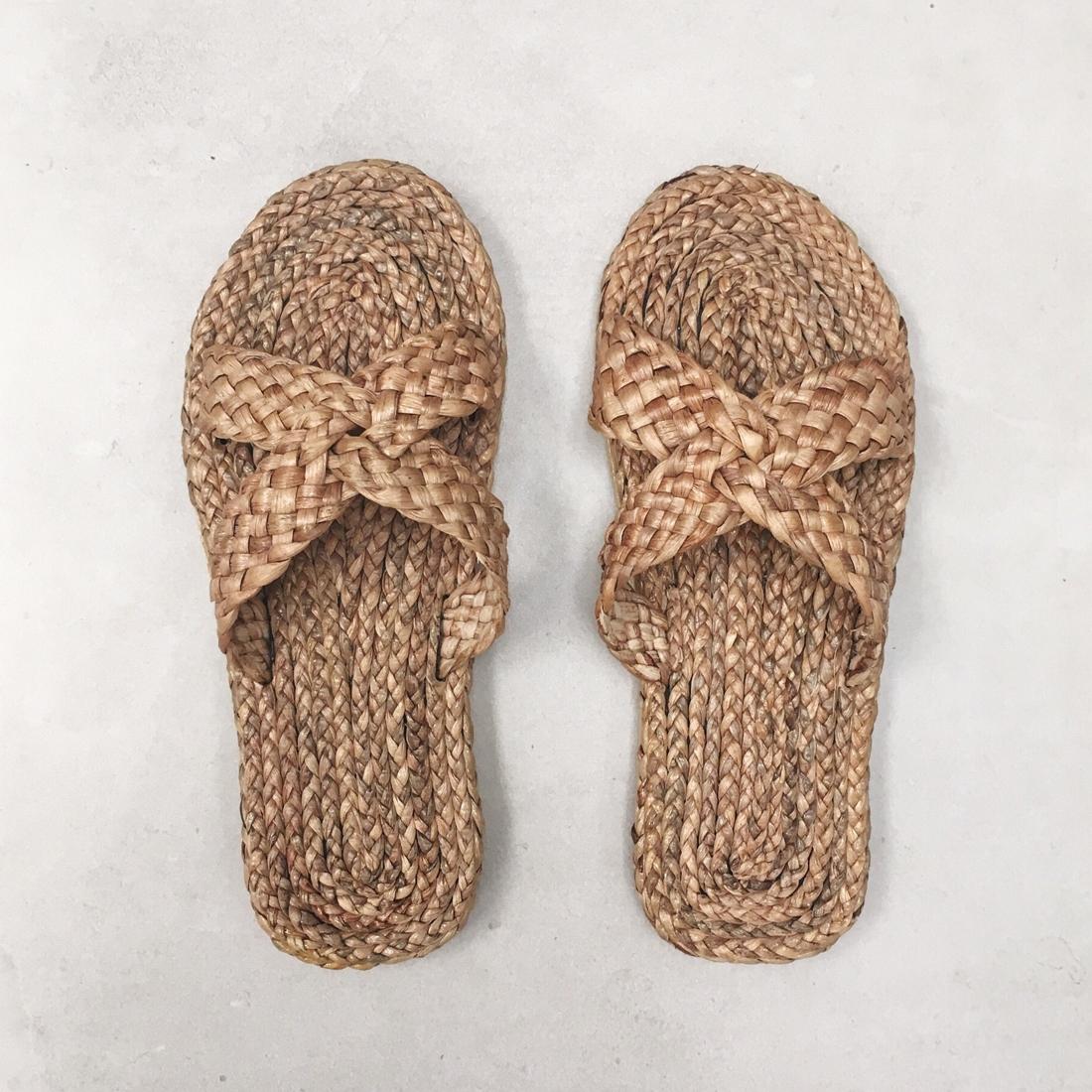 Sandales tressées N°1