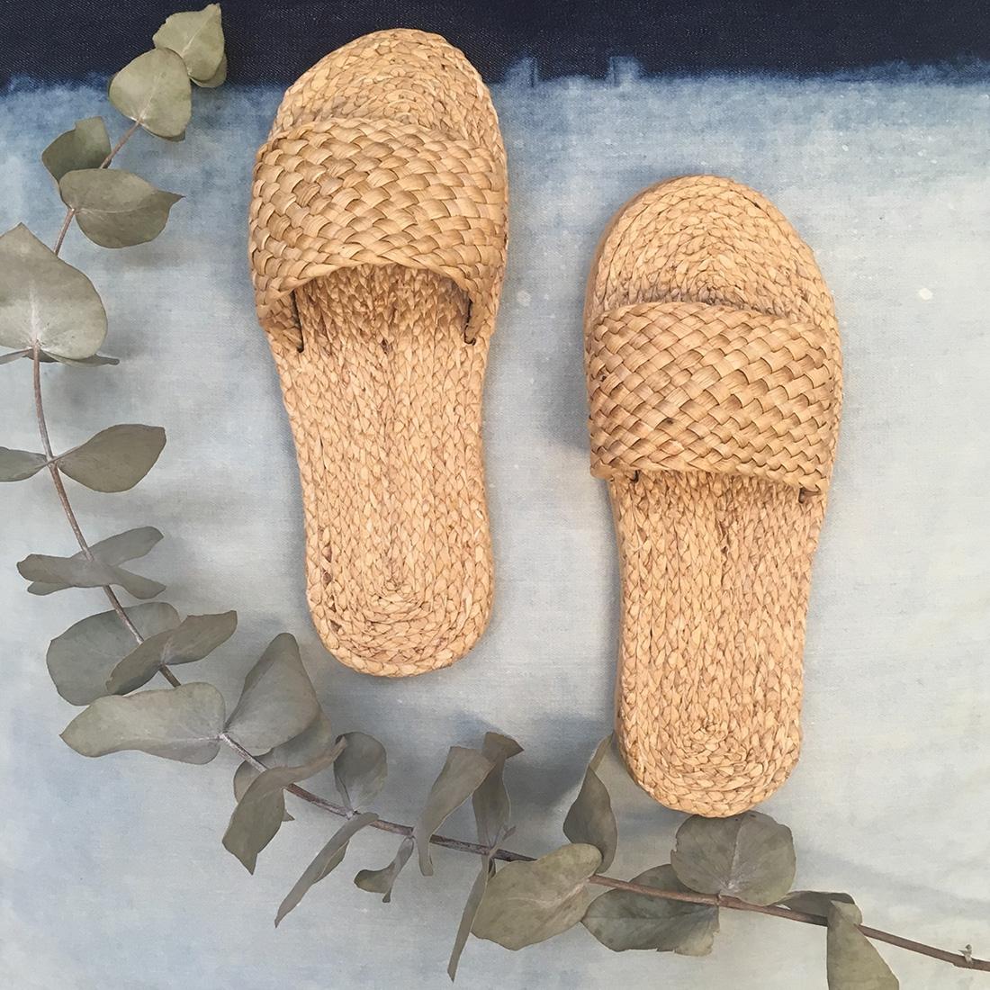 Sandales tressées N°4