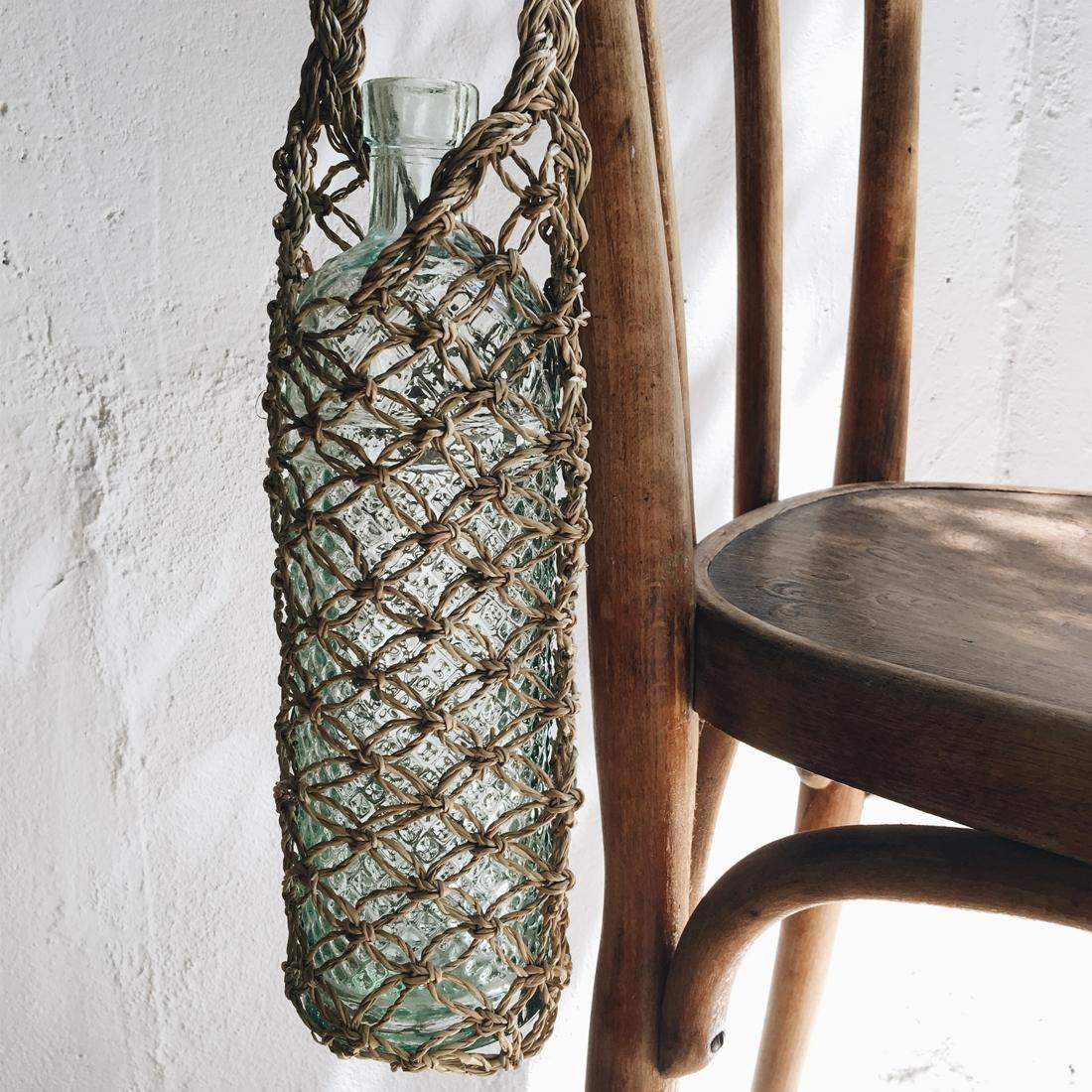 Porte-bouteille en palmier