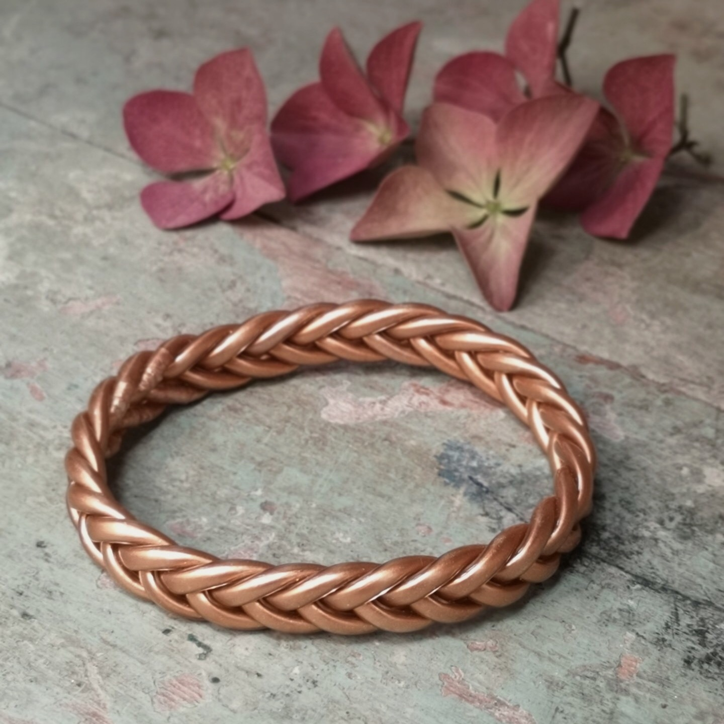 Bracelet bouddhiste Braid Cuivre