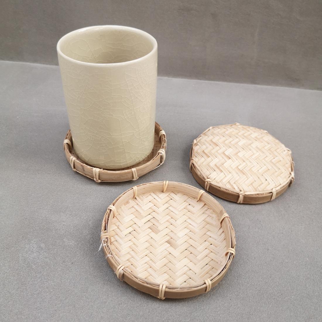 Sous-verres en bambou