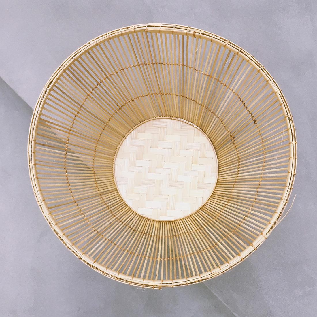 Corbeille en bambou