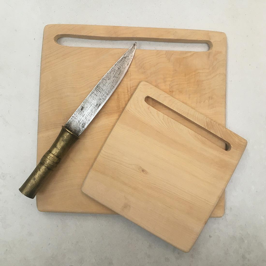 Planches à découper carrées