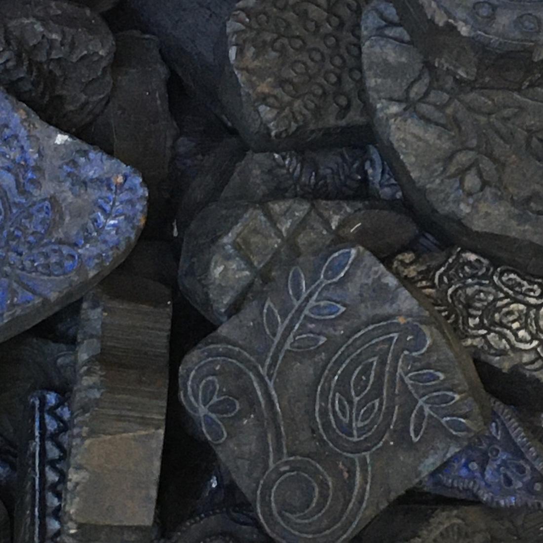 Sarong Blockprint N°1