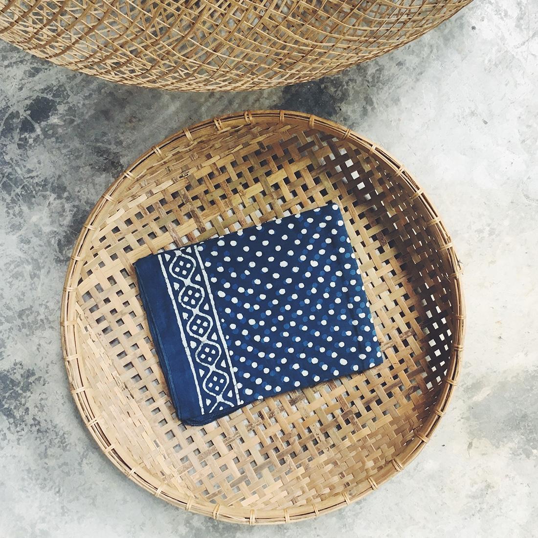 Sarong Blockprint N°3