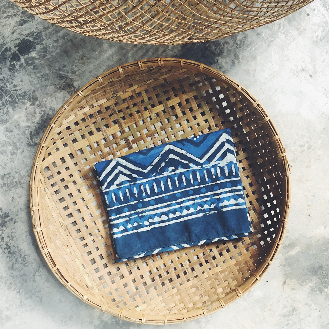 Sarong Blockprint N°2