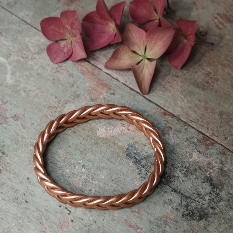 Bracelet bouddhiste Braid Cuivre