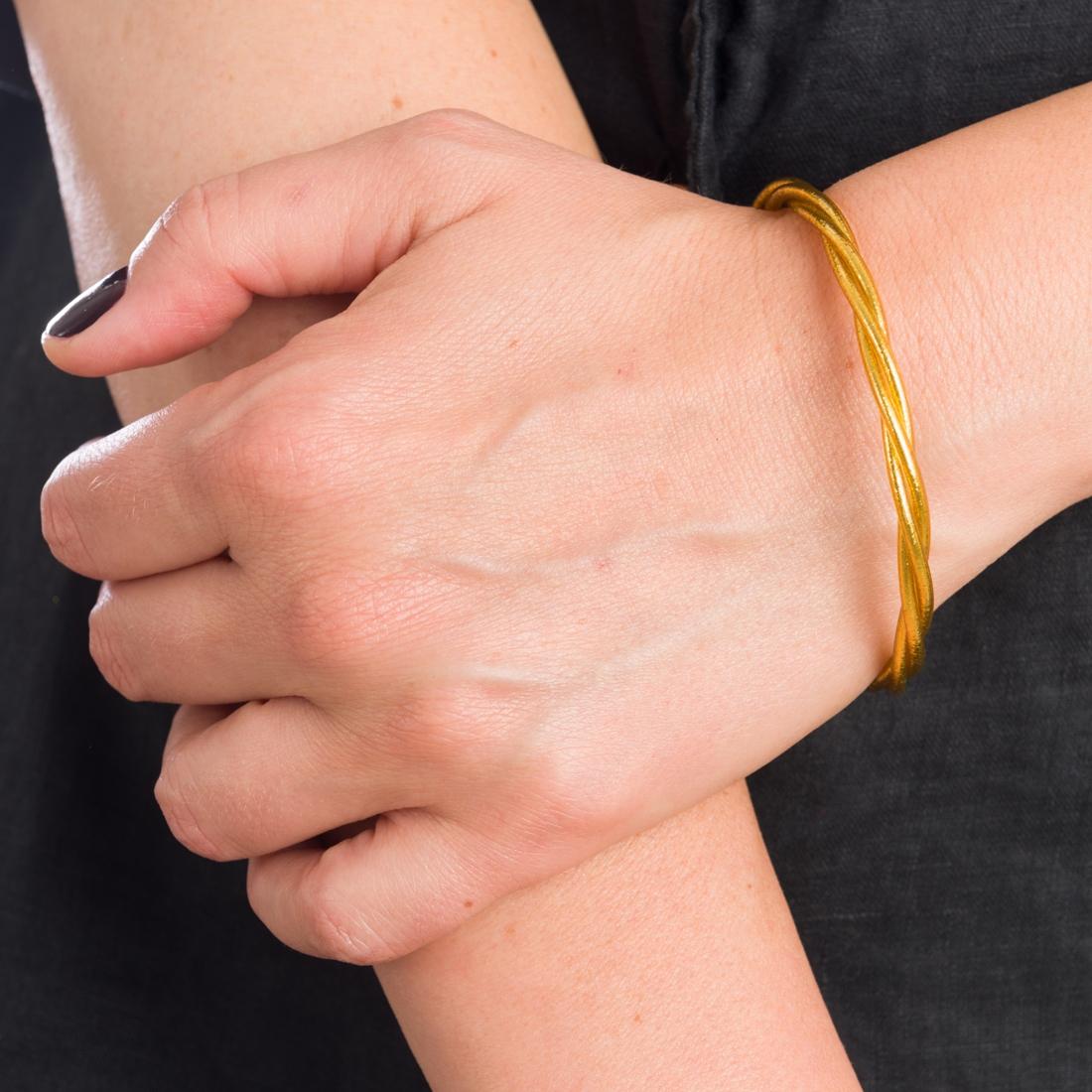 Bracelets bouddhistes torsadés modèle fin