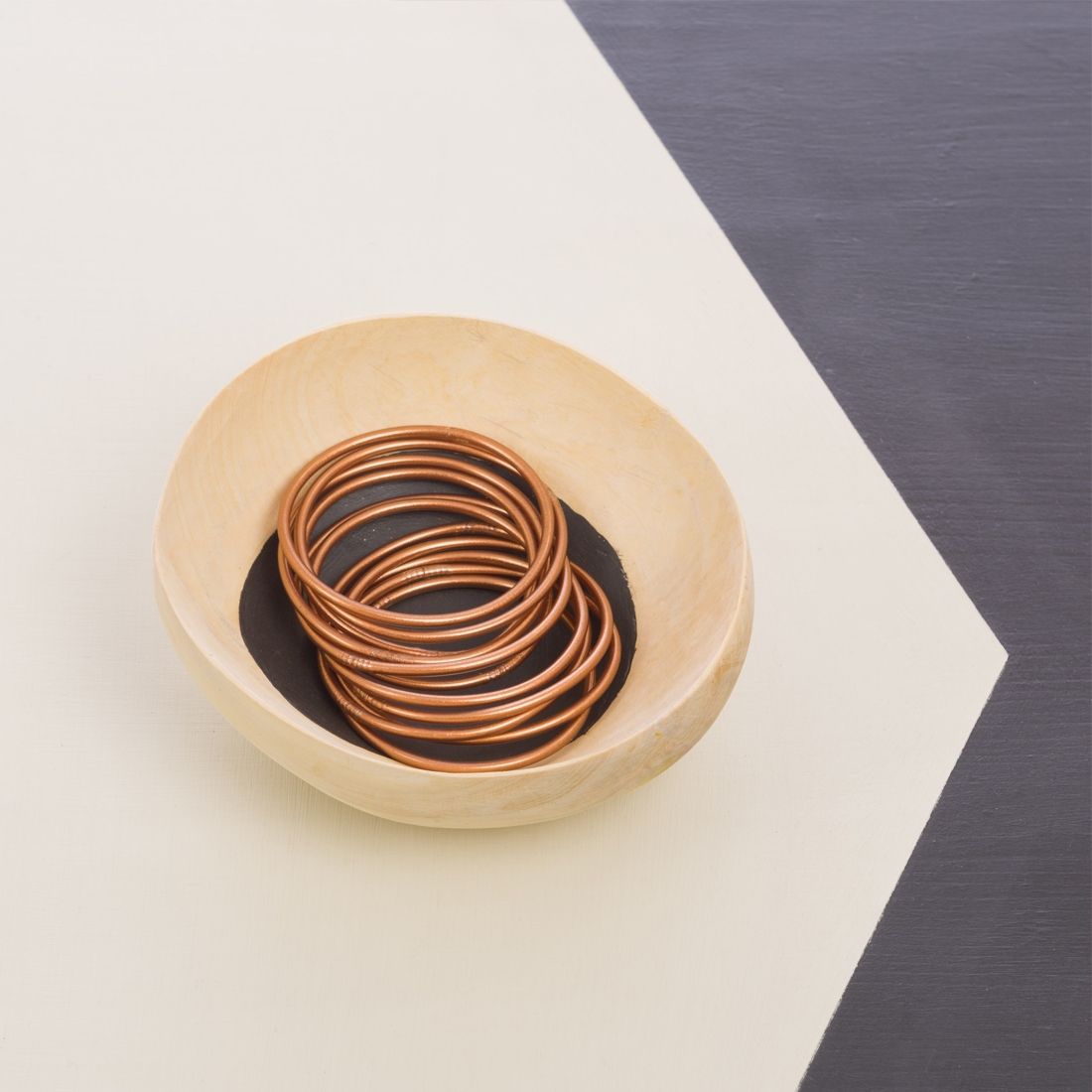 Bracelets bouddhistes cuivre Fin