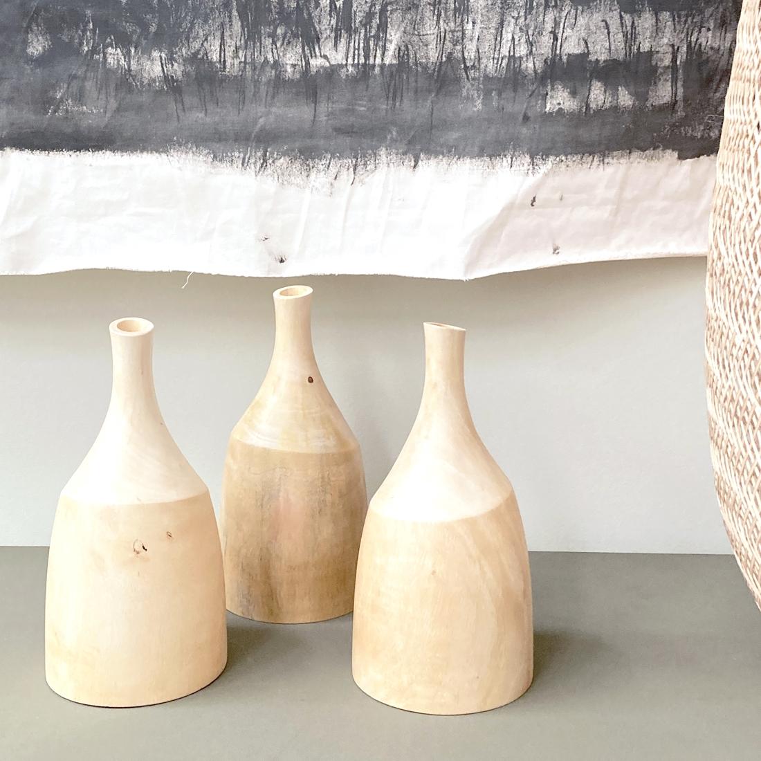 Vase en manguier