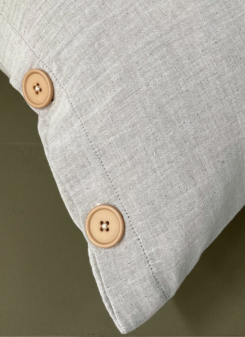 Coussin Ava - Boutons